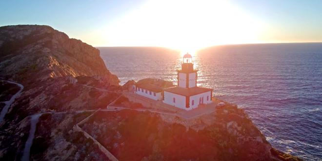 Revellata Lighthouse - 4K - Typhon H