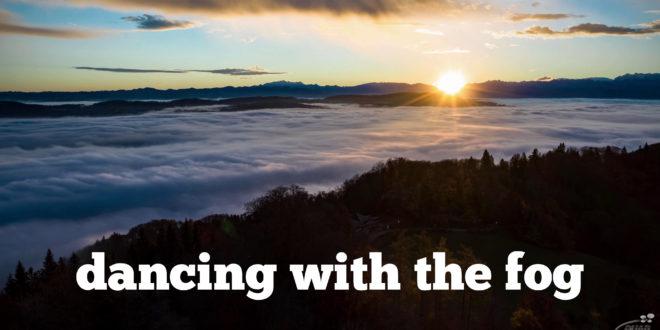 Dancing with the fog | Mavic 2 - Hyperlapse